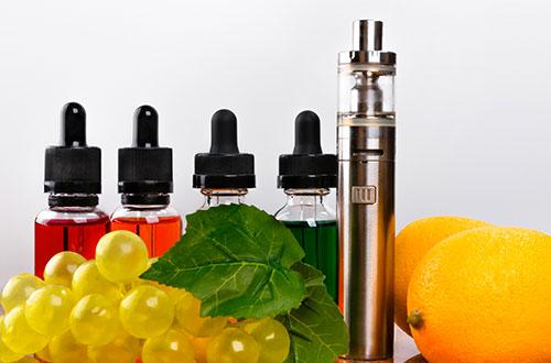 Arômes pour cigarette électronique